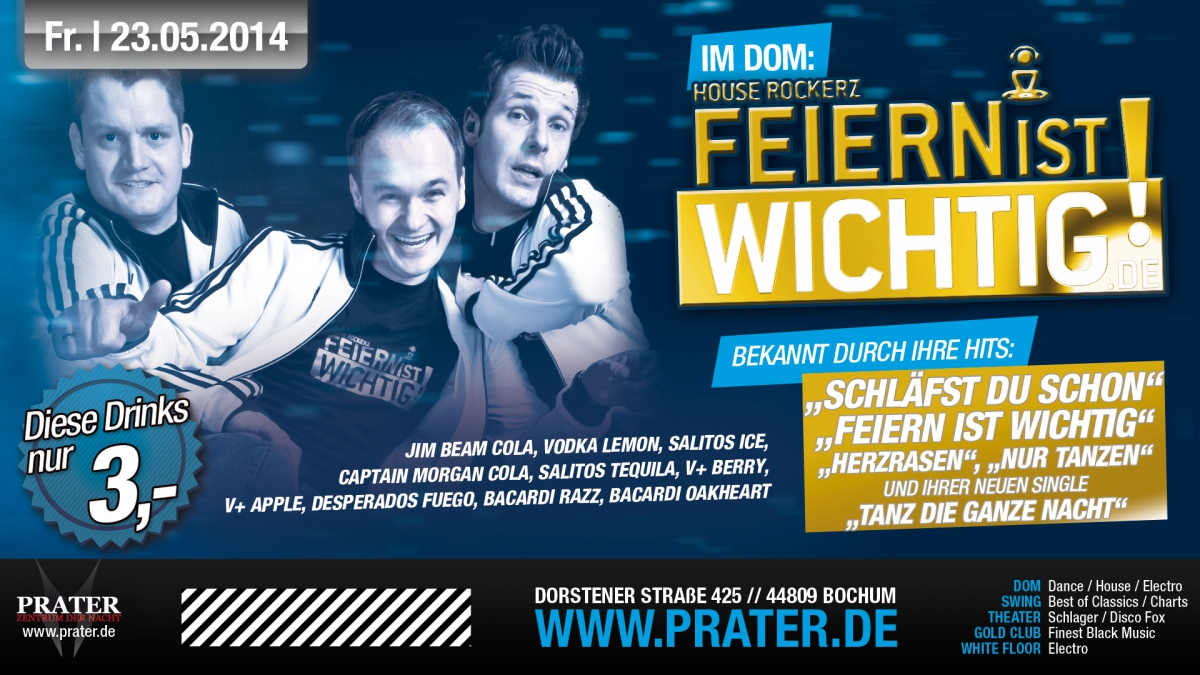 DAX am 02.01.2015: Single Party 2.0 in Hannover - virtualnights.com