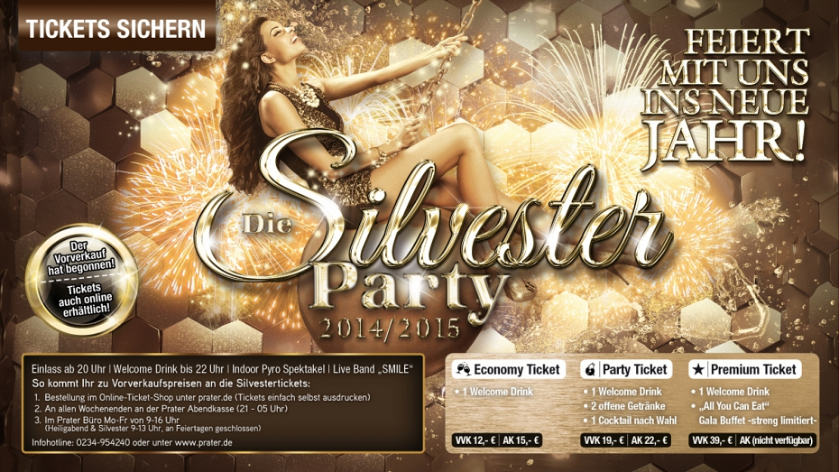 Silvester single party bochum