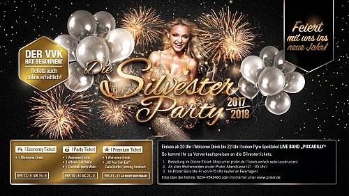 Die Silvester Party 2017 // 2018