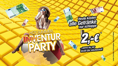 Hot summer Inventur Party